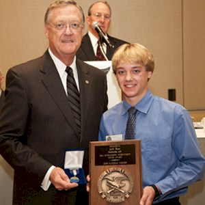 Jeff Bue - Brownells NRA Outstanding Youth Achievement Award Recipient