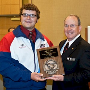 Brownells NRA Outstanding Youth Achievement Award Recipient Wietfeldt